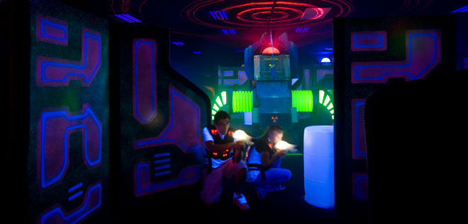 The best laser tag in town!